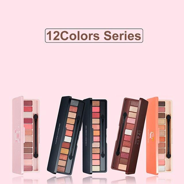 lameila naked Eyeshadow Palette 10Colors Matte Eye shadow Fashion Glitter Eyeshadow MakeUp Nude set Korean Style Cosmetics 4