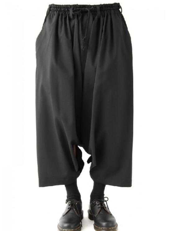 Wide-Leg-Pants Harem Loose Large-Size Men's Summer New-Fashion Hot 27-44 Low-Grade Customizatio
