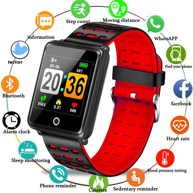 b270862dbecc BANGWEI 2019 las nuevas mujeres Fitness deporte reloj inteligente Monitor  de ritmo cardíaco reloj inteligente para