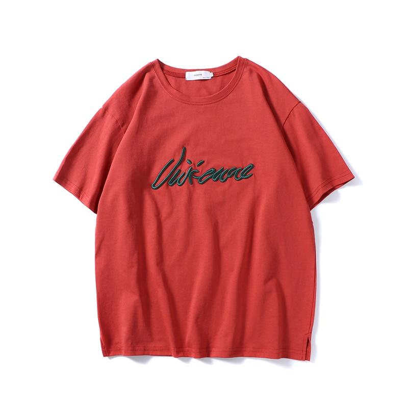 2018 весна и новые летние Для Мужчин's Повседневное Бизнес короткими рукавами Сплошной Цвет Простой Личность футболка Дикий тенденции моды