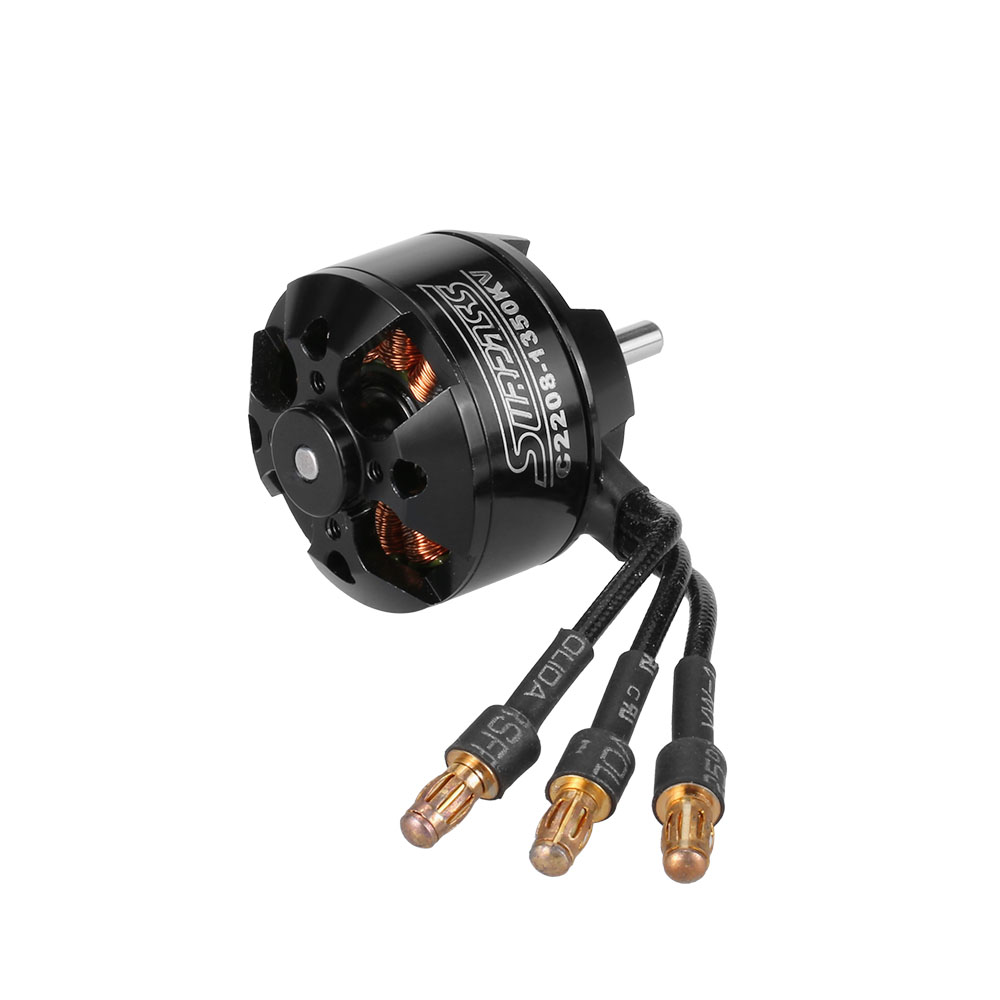Original High Performance 2208 1350KV 14 Poles Brushless Motor for RC Airplane Fixed-wing leonard  yates high performance options