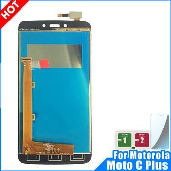 Lcd para Motorola Moto C Plus CPlus XT1723 C + LCD pantalla táctil digitalizador montaje 100% piezas de repuesto probadas