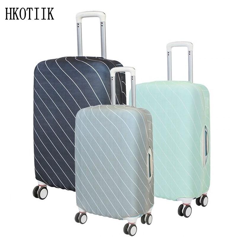Нов качествен еластичен куфар защитно покритие пръти куфар прах защита покриване прах капак защита 18-30 инча
