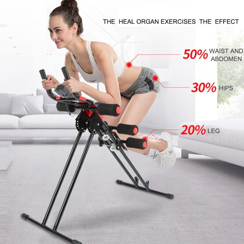 Pliable Abdominale Formateur Musculaire Super 150-Force de Remise En Forme ABS Plein Corps Exercice Formateur Abdominale Roue Équipement de Gym à Domicile
