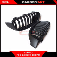 4 Series F32 F33 ABS Matt Grill For BMW F36 F80 M3 F82 F83 M4 2 Door Coupe Convertible 420i 428i 435i 428d 420d 425d 430d 435d