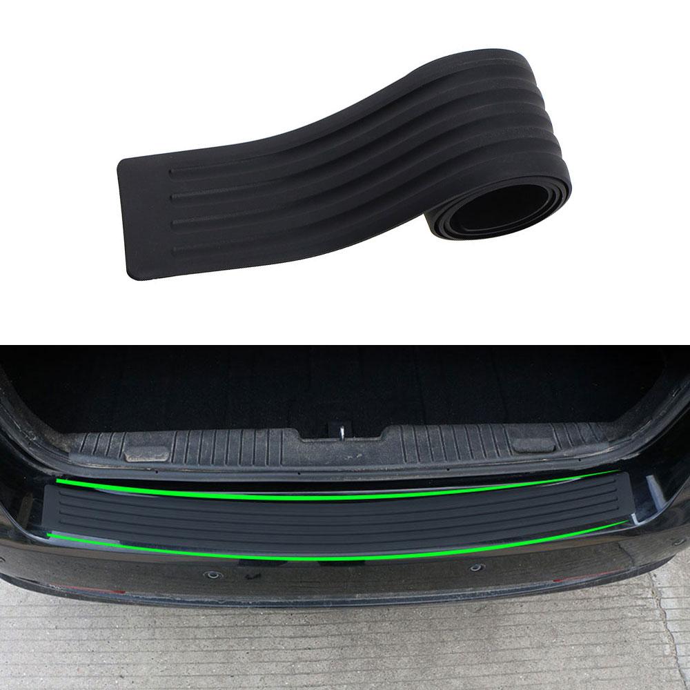 Car Styling for BMW E46 E52 E53 E60 E90 F01 F20 F10 F30 F15 X1 X3 X5 X6 Car Rubber Rear Guard Bumper Pad Cover