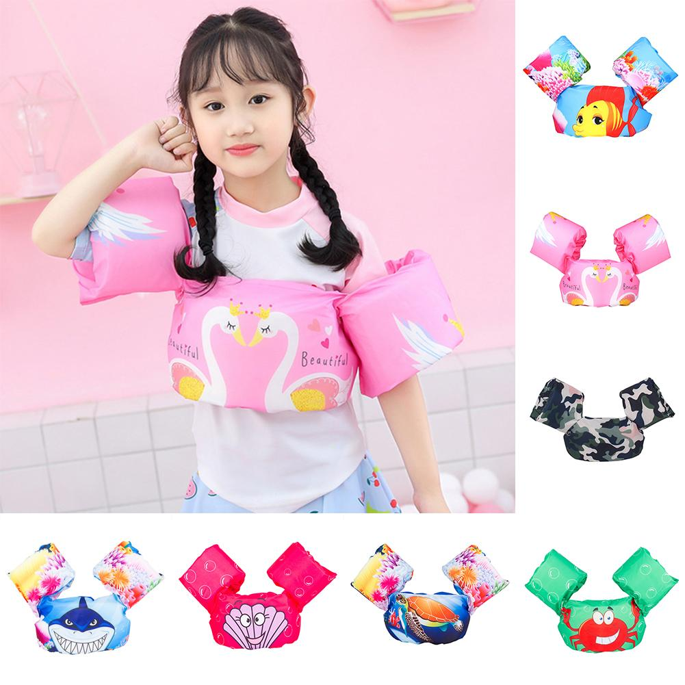 Baby Kids Arm Ring Life Vest Floats Foam Safety Life Jacket Sleeves Armlets Swim Circle Tube Ring Swimming Rings