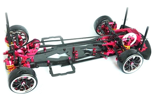 free shipping Alloy & Carbon SAKURA D3 CS 3R OP RC 1/10 4WD Drift Racing Car Frame Kit 1:10 1 set d3 cs sport aluminum steering system for 3racing sakura d3 1 10 rc car top quality
