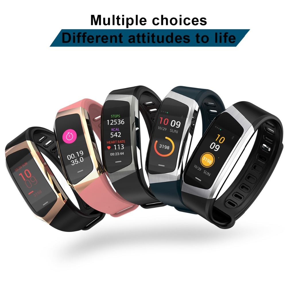 Smart Bracelet Watch Fitness Heart Rate Monitor Sport Smart Wristband For iOS Android Fitness Tracker Smart Band Relogio saat цена 2017