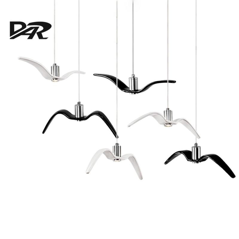 Új dizájn fekete / fehér függő lámpák személyiség tengeri - Beltéri világítás
