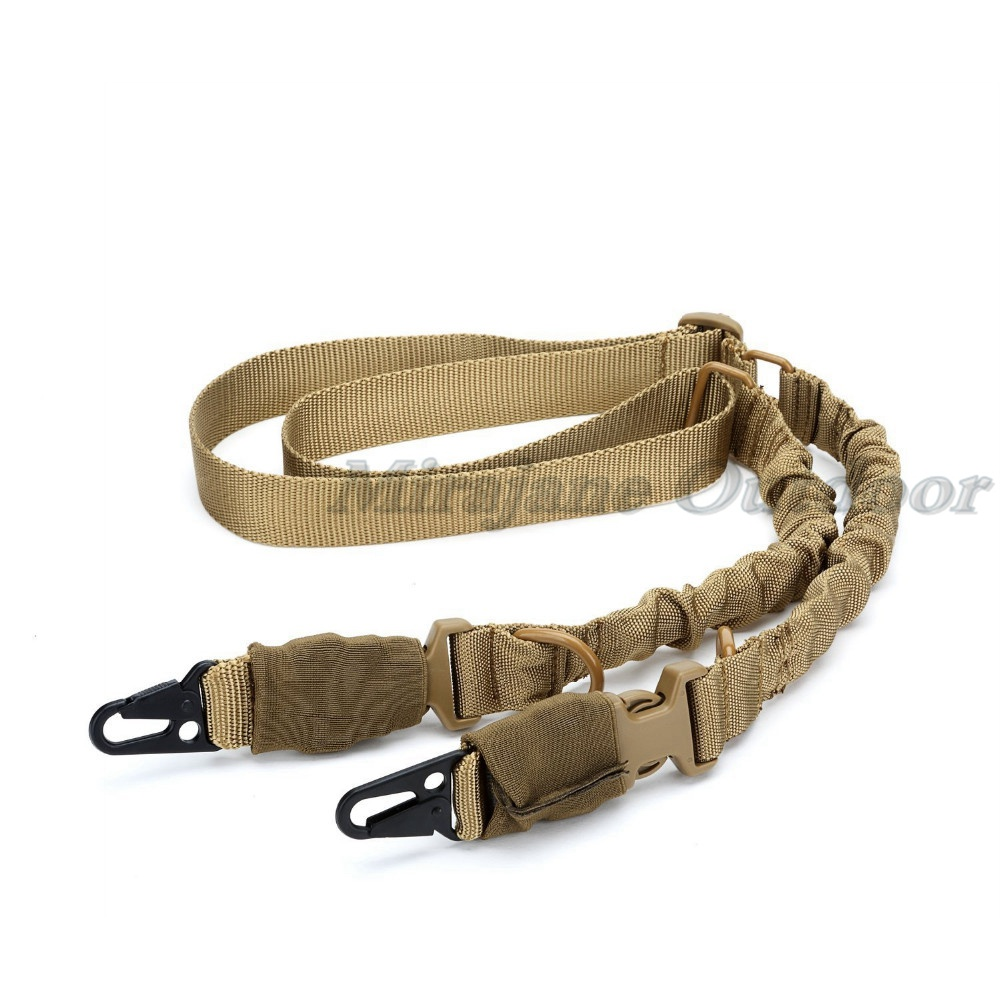 Heavy Duty Tactical Hunting 2 Two Point Multi Misión Rifle Sling System