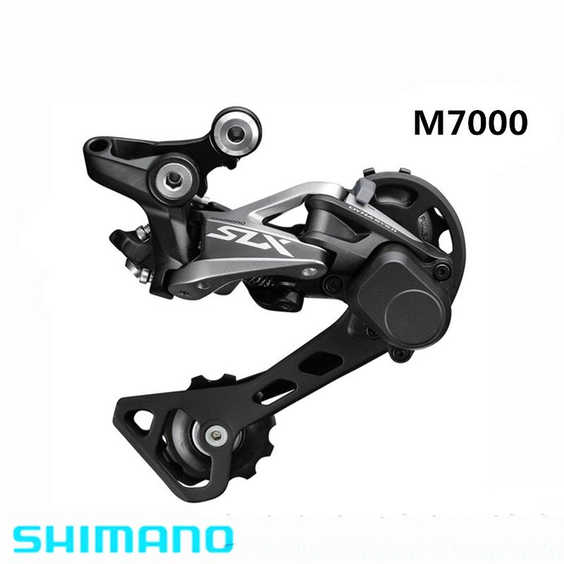SHIMANO SLX RD M7000 GS 11S Speed Middle Cage Rear Derailleur Shadow System Locking Button Bicycle Part m670 10speed image