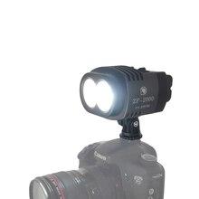 20 Вт 2000LM Видеокамера Кри Studio СВЕТОДИОДНЫЕ Лампы Видео Би-Цвет и Затемнения Лампы + Аккумулятор + Зарядное Устройство для Цифровой Зеркальный Фотоаппарат Canon Nikon Sony