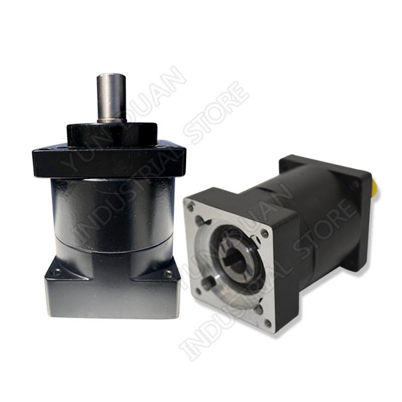 Ratio 30:1 Nema52 130mm  Planetary Gearbox Speed Reducer Carbon steel Gear for Stepper Motor  3000rpmRatio 30:1 Nema52 130mm  Planetary Gearbox Speed Reducer Carbon steel Gear for Stepper Motor  3000rpm