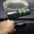 Super Bright ~ New E17 CREE XM-T6 5-Mode Driver 6000LM High Current LED Flashlight Torch+Charger+18650 Battery