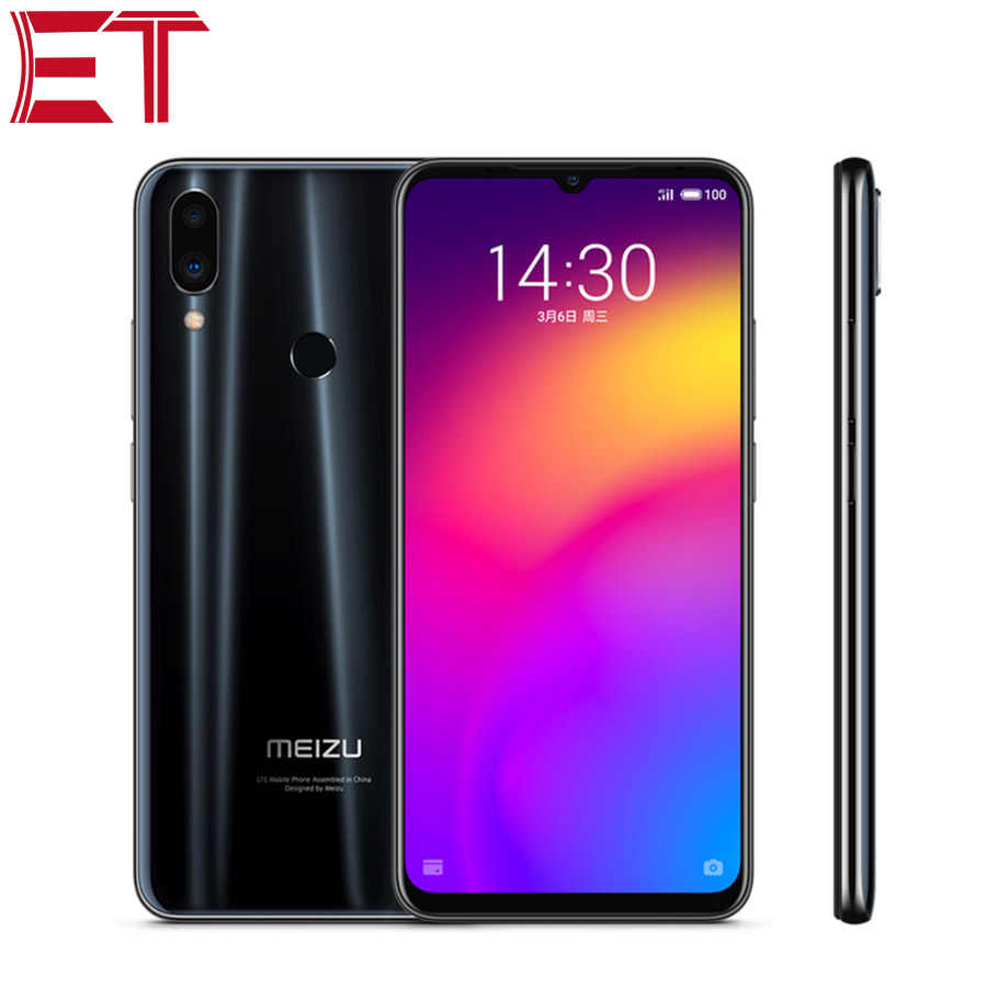 "Téléphone portable Original MEIZU Note 9 6.2 ""1080x2244 Snapdragon 675 OctaCore 4 GB RAM 128 GB ROM 48MP empreinte digitale Charge rapide Android"