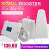 2G 3G 4G Triple band Cell Phone Signal Booster 70dB GSM 900 LTE 1800 WCDMA 2100 mhz Mobile Cellular Signal Repeater Antenna Set
