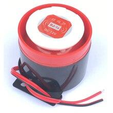 Alto falante de alarme em decibel, alto falante de alarme ativo de 12v, 220v, 120db dc, dispositivo antirroubo da loja de casa alto falante de áudio beep