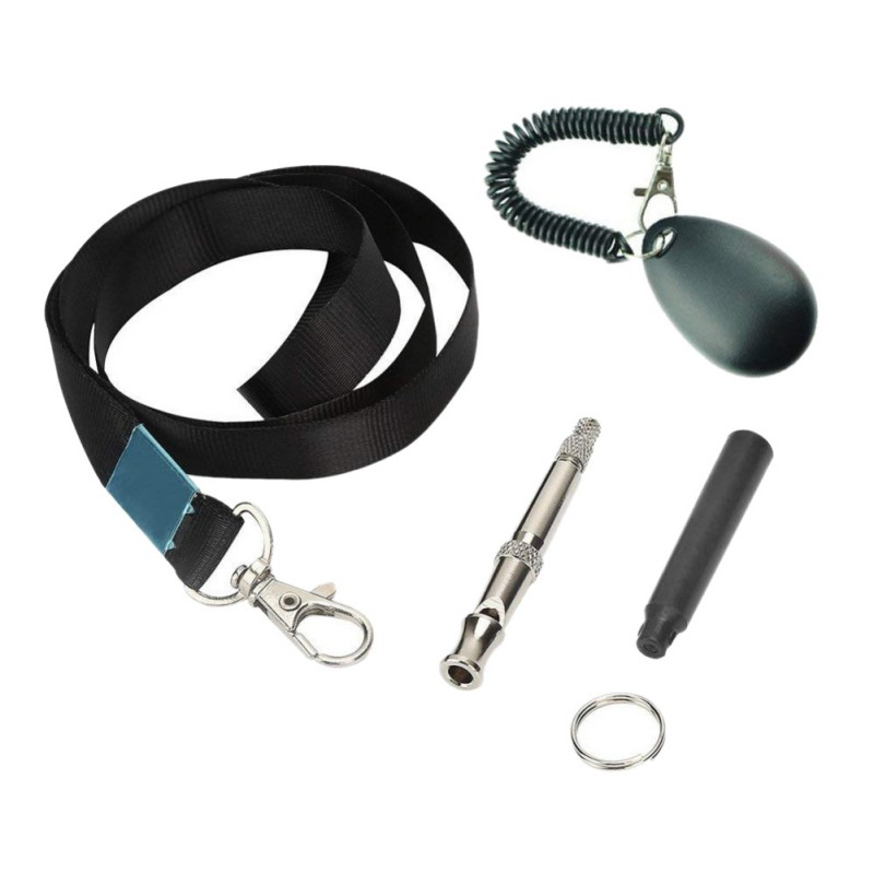 Dog Whistle and Clicker Training Coddler Premium Adjustable Pitch Ultra Sonic Dog Whistle and Pet Training Clicker Drop Shipping