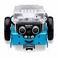 Makeblock mbot upgrated versión v1.1 diy mbot kit robot educativo-azul (versión de bluetooth) el mejor regalo para los niños