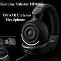 Genuine Takstar HD6000/HD 6000 Dynamic Stereo Headphones Auriculares Studio Audio Monitor Headset Ecouteur DJ Game Earphone