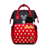Disney Minnie Baby Bag Fashion Nappy Bags Large Diaper Bag Backpack Organizer Maternity Bags Mother Handbag Baby Nappy Backpack