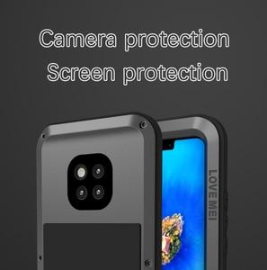 Image 4 - Love Mei กรณีอลูมิเนียมสำหรับ Huawei Mate 20 Pro กันกระแทก 360 ป้องกันสำหรับ Huawei Mate 20/Mate 20 Lite