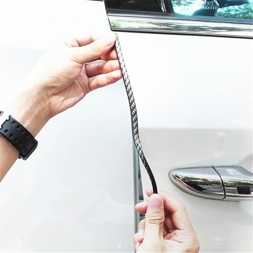 4 pezzi Paraurti della protezione della portiera della macchina Protezione del bordo della portiera della macchina Anti-sfregamento Protezione anti-collisione grigio