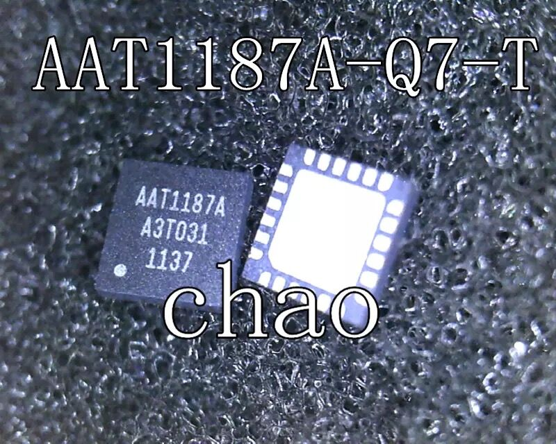 شحن مجاني 10 قطعة/الوحدة AAT1187 AAT1187A AAT1187A-Q7-T qfn24 جديد
