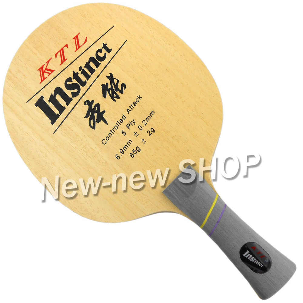 KTL Instinct Shakehand Table Tennis (Ping Pong) Blade