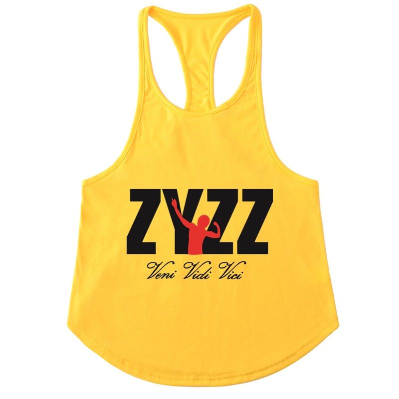 2018NEW men sleeveless   Tank     Tops   ZYZZ Summer Cotton Male   Tank     Tops   gyms Clothing Bodybuilding Undershirt Golds Fitness   tank     tops