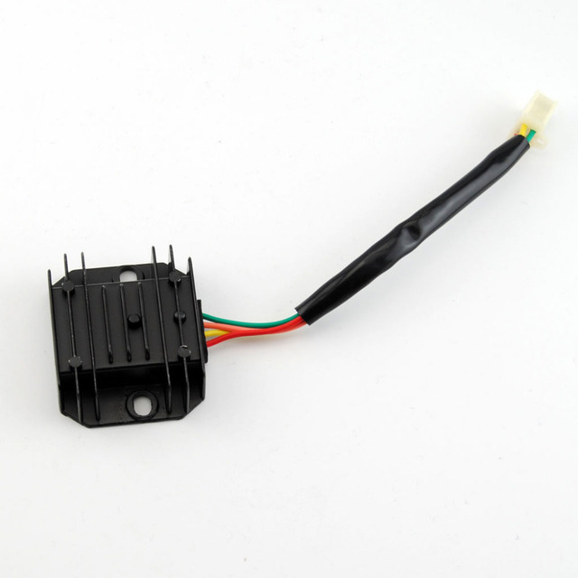 universal 4 wire 2 phase motorcycle regulator rectifier 12v dc bike rh aliexpress com 12V DC plc Wiring 12V Wiring DC Solenoid