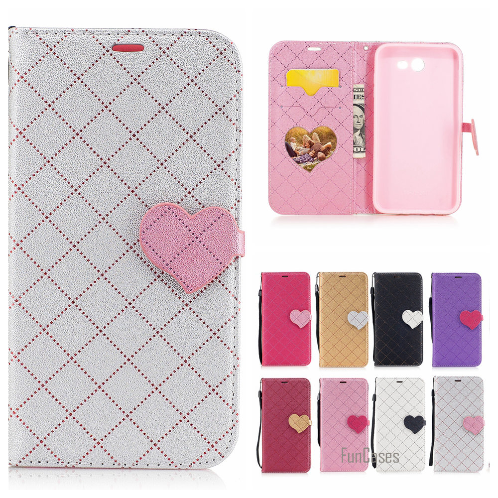 Newest Mixed Color PU Leather Case For Samsung Galaxy J7 2017 S8 Plus flip Caso Capa For Samsung J3 J5 A3 A5 2016 S7 Edge Coque