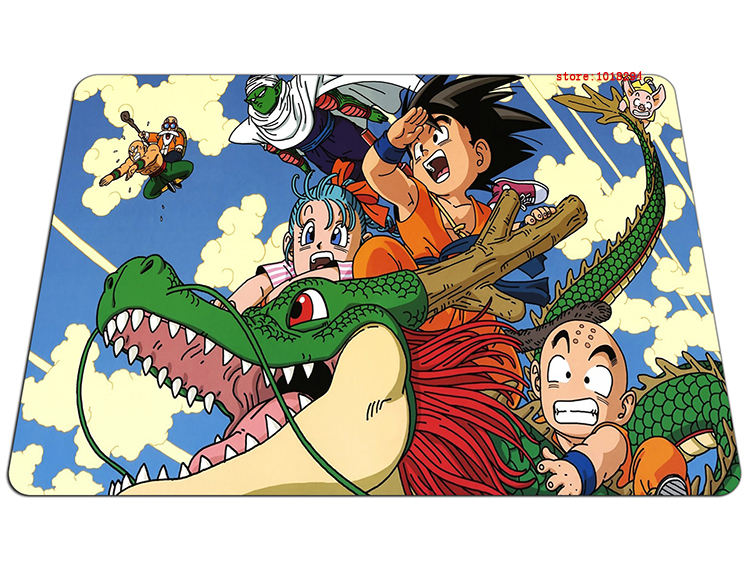 Dragon Ball mouse pad HD pattern mousepad laptop Dragon Ball Z mouse pad gear notbook computer anime gaming mouse pad gamer