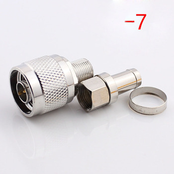 50Sets N to F Connector Metric N Series Adapter Mobile Phone Signal Amplifier Plug N / F-75-7 Connector