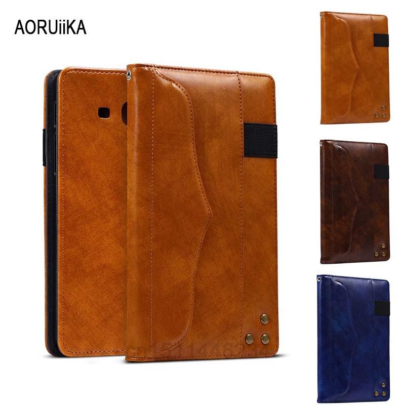 AORUiiKA Tab UN 7.0 cas De Couverture Pour Samsung Galaxy Tab un a6 7.0 T280 T281 T285 Multi-angle antichoc stand PU Cuir Smart Case