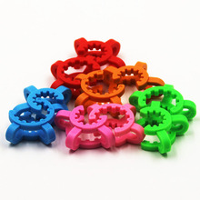 Keck clips plastic used for 18.8mm 14.4mm joint size different color glass water pipe