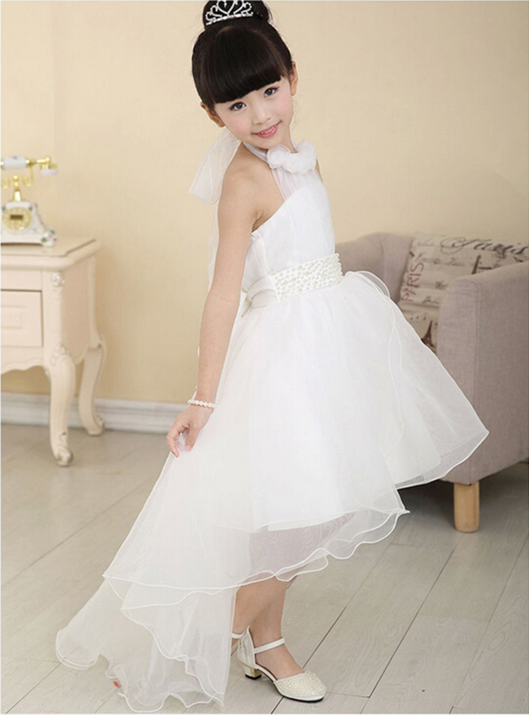 8368b2c83c20 2017 flower girl dress for wedding party new style halter princess ...