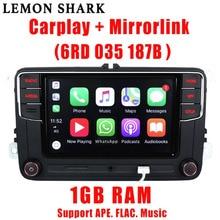 Rcd330 בתוספת RCD330G Carplay רכב MIB רדיו RCD 330 330G 6RD 035 187B עבור פולקסווגן גולף 5 6 ג טה CC MK6 MK5 Tiguan פאסאט B6 B7 187B