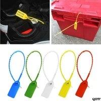 100Pcs Disposable Plastic Pull Tite Security Seals Signage Numbered Self Locks Jun21|Door Key Roses| |  -