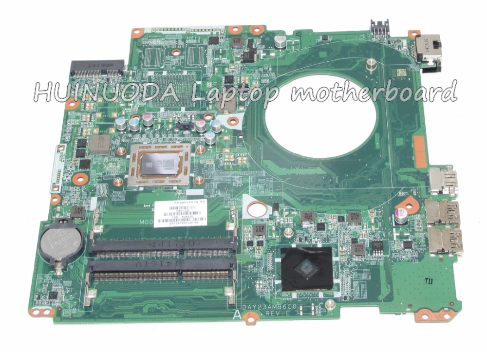 763424 501 763424 001 DAY23AMB6C0 For HP Pavilion 17 F laptop motherboard A10 5745M Mainboard full