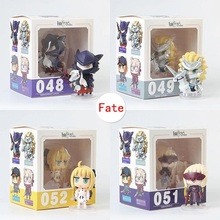 Saber figura Altria Pendragon Joan of Arc Mordred #048 - #055 Q-Version PVC Mini Alter Lancer Tamamo no Mae Action Figure