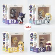 Saber figurativo Altria Pendragon Joan of Arc Mordred #048-#055 Q-Versione PVC Mini Alter Lancer tamamo no Mae Action Figure(China)