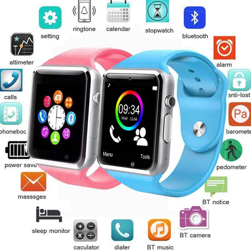 Smart Watch For Children Kids Baby Men Women Watch Phone 2G Sim TF Card Dail Call Touch Screen Waterproof Smart Clock Smartwatch
