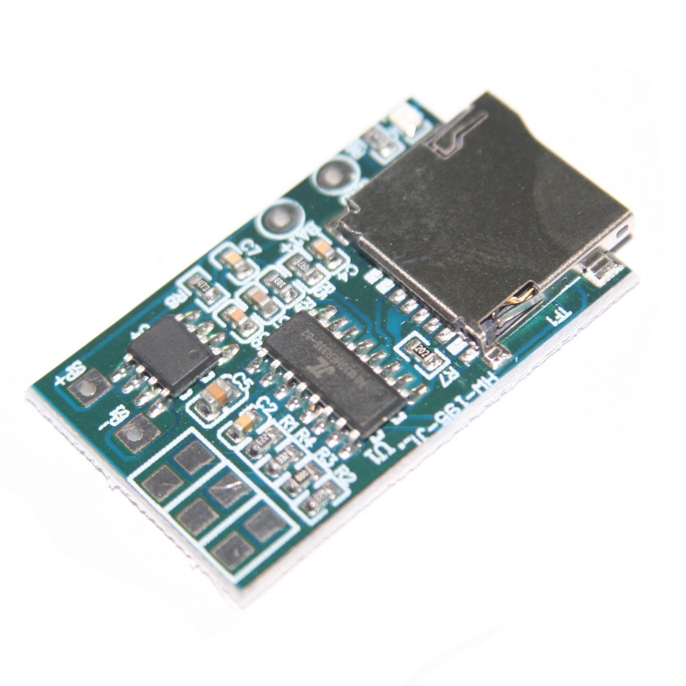 Sweet-Tempered Gpd2846a Tf Card Mp3 Decoder Board 2w Amplifier Module Integrated Circuits