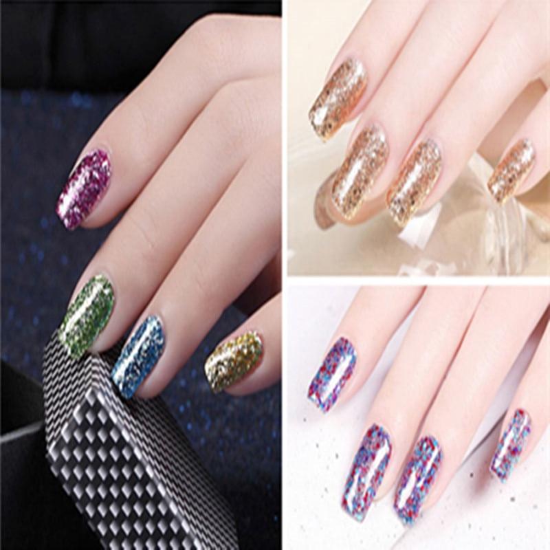 Aliexpress Buy Zation Diamond Glitter Gel Nail Polish Bling