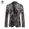 2016 Men Blazers Formal Terno Masculino Bleiser Hombre Singer Groom Wedding Suits Men's Casual Fashion Slim Fit Male Blazers Men