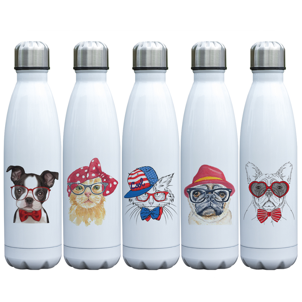 cool-animals-design-dogs-cats-wearing-glasses-500ml-thermos-insulated-bottle-metal-stainless-steel-vacuum-bottle-17oz
