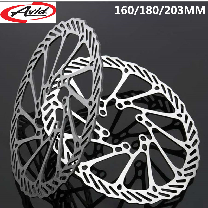 № online wholesale hydraulic disc brake disc and get free shipping1 piece 6 bolts 160 180 203mm mtb road bike brake disc rotors hydraulic mechnical mountain bicycle disc brake rotor