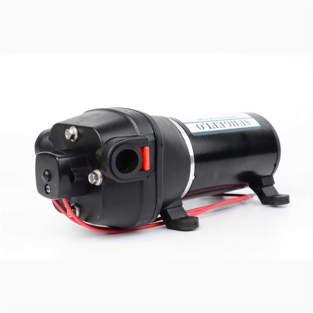 12 فولت 24 فولت dc 40psi الضغط المنخفض (2.8Bar) رفع ماكس 25 متر الكهربائية غشاء مضخة الري متنقل سيارة امدادات المياه FL-40 FL-44
